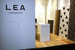 Тонкая плитка Slimtech Lea Ceramiche на выставке Batimat Russia 2016