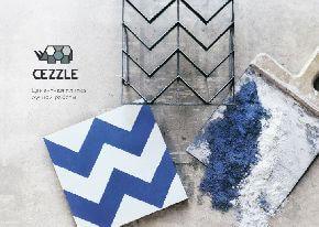 Cezzle - это пазл, который складывается из цементной плитки
